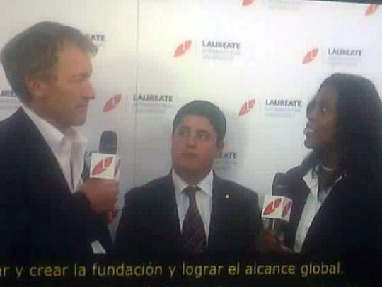 Nicolás entrevistado en la señal oficial del CGI.