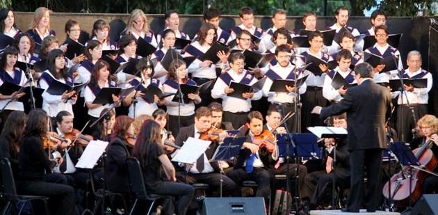 Camerata y Coro UNAB en Concierto de Navidad en Portal La Dehesa