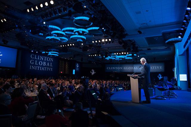 Bill Clinton CIG 2013 Universidad Andres Bello Chile