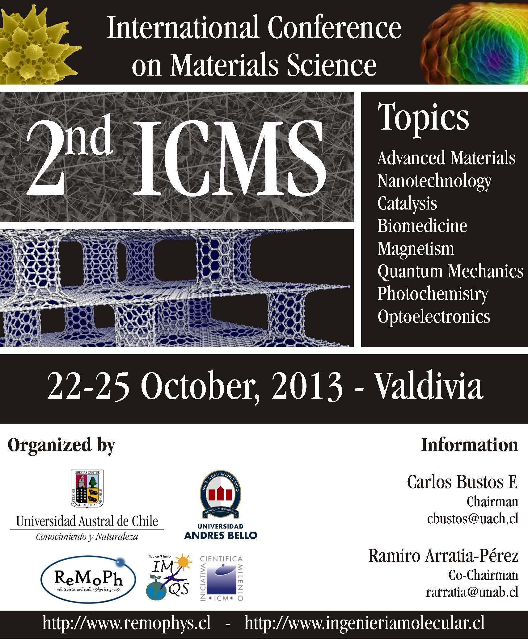 International Conference Materials Science 2013 UNAB