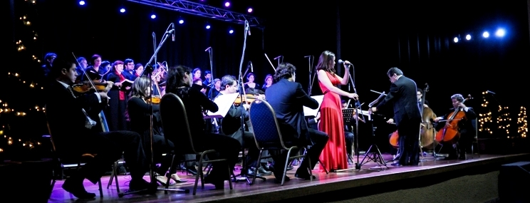 navidad concepcion 2012 coro camerata unab