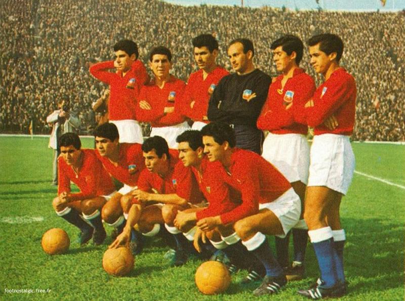 Fútbol Chile Mundial 1962 Cultura U. Andrés Bello