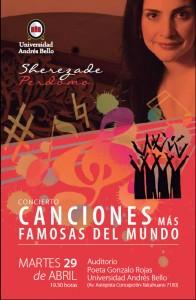 Canciones del Mundo Coro Concepción UNAB