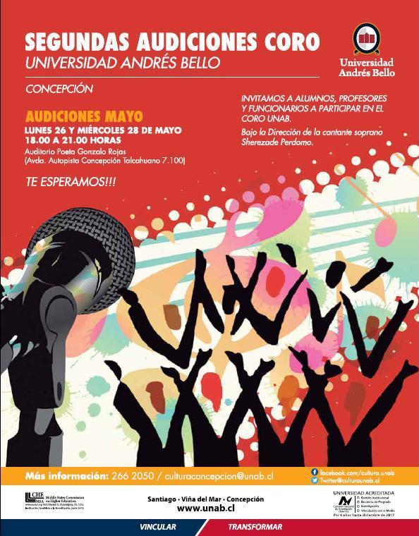 Audiciones Coro Concepción II 2014