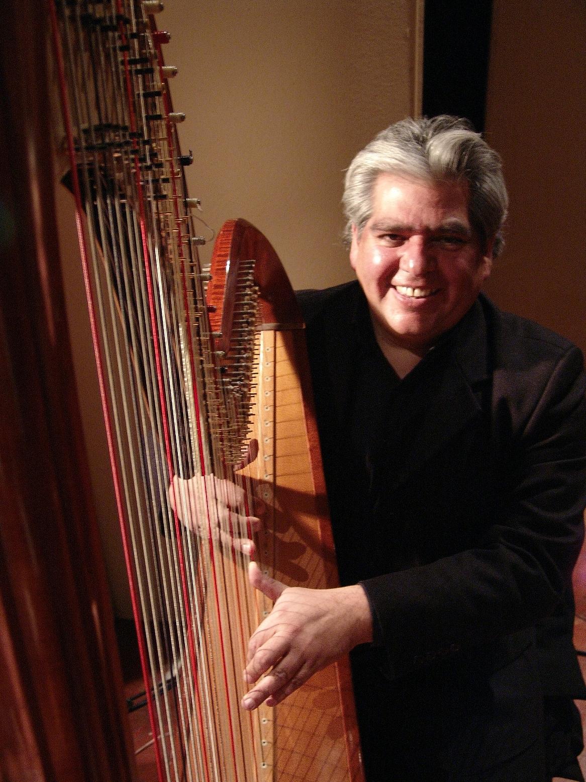 Manuel Jimenez - Concertista Arpa Clásica