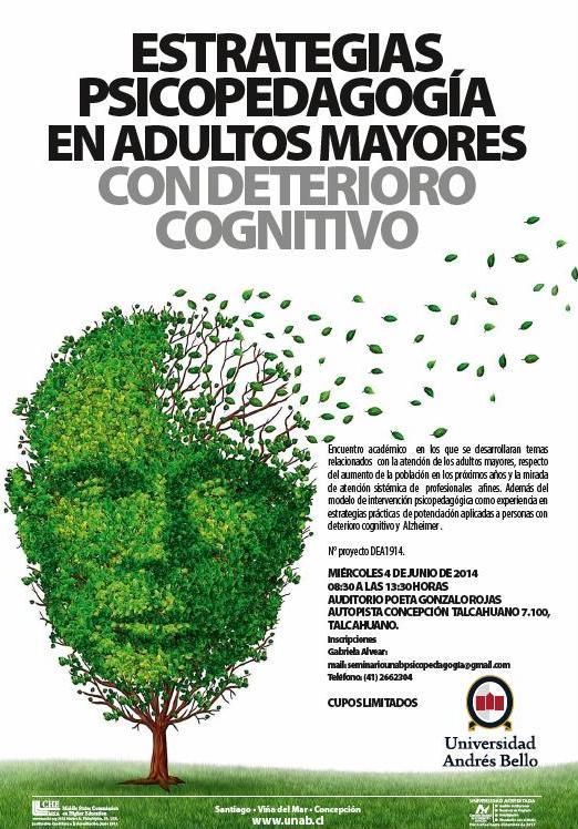 Seminario Estrategias Psicopedagógicas en Adultos Mayores con deterioro cognitivo UNAB