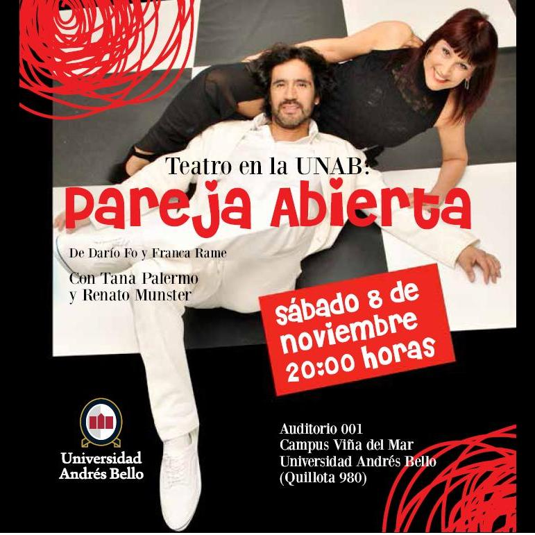 UNAB Teatro Pareja Abierta Munster Palermo