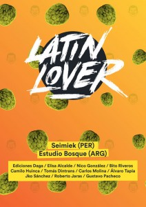 Afiche Latin Lover Festival 2014
