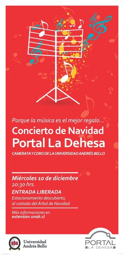 Camerata UNAB Concierto Navidad Portal La Dehesa