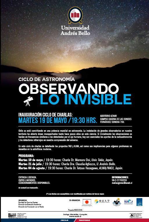 Ciclo Astronomia Afiche