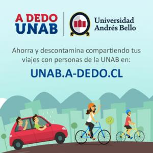 A-Dedo: La nueva forma de compartir el auto rumbo a la UNAB