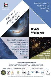 workshop astrophysics unab