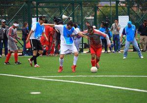 fútbol para niños y adultos con discapacidades