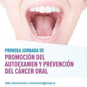 jornada autoexamen prevención cáncer oral